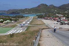 Saint Barthélemy airport TFFJ (rjonsen) Tags: airport caribbean st barths tropical airfield runway