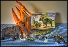 Miscellaneous (Haul) (RobinGoodfellow_(m)) Tags: mammoth caulkicephalus acanthopholis prerodaustro hypsilophodon stegosaurus chasmosaurus erythrosuchus