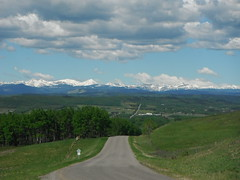 Millarville Rocky Mountain Range (Mr. Happy Face - Peace :)) Tags: albertabound canada canada150 art2017 cans2s nature environment spring foothills landscape blueskies clouds flickrfriday flickrfriends travels hff