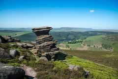 Nearly.......A cloudless sky (Timallen) Tags: derwentedge derbyshire saltcellar peakdistrict ladybower