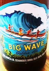 Big Wave (instamatiic.3nigma) Tags: graphicdesign bigwave beer blue graphics italia