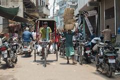 Mayhem (Andrew G Robertson) Tags: varanasi india streetphotography street rickshaw canon5dmkiv mk4 mkiv canon 5d