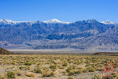 On the way to Death Valley (tmlmark) Tags: desert deathvalley california mountains landscape valley death nationalpark deathvalleynationalpark snowcapped