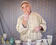 Die Vogelpfeife (mheckerle) Tags: potter hexenmarkt idstein 2017 toepfer handwerk medieval middleage craft grade handiwork