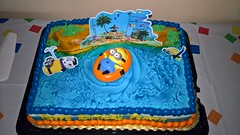 Paxton's 7th Birthday Party (heytampa) Tags: cake birthdaycake minions birthdayparty