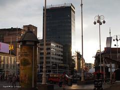 Trg bana Jelacica square sight
