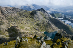 Snowdon Summit. (Marie-Laure Even) Tags: 2017 cymru europe fjall gallois galloise glaslyn hike lac lake landscape llynllydaw mai marielaureeven may minerstrack montagne mountain nature nikond7100 paysdegalles paysage printemps pygtrack royaumeuni snowdon snowdonianationalpark sommet spring summit travel uk unitedkingdom voyage wales welsh wild wilderness гора природа
