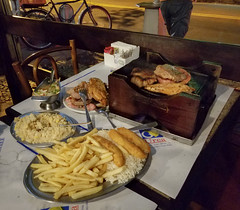 20170604_192900 (jaglazier) Tags: 2017 6417 brazil copyright2017jamesaglazier food june meals meat potatos prosciutto rice riodejaneiro sausage urca chicken churrascaria dinner faroffa frenchfries grilled porkchops restaurants steak