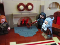 MELO Round 1: The Misty Mountains Cold (~Choco15) Tags: lego hobbit thorin dwarves