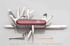 Swiss Army Knife (weeviltwin) Tags: swiss army knife champion red handle cross blade blades multiuse useful highlight stainless rustfree rostfrei weshootcom