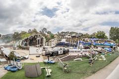 War of the Worlds (matman73072) Tags: universalstudios hollywood losangales california themepark moviestudio studiotour waroftheworlds planecrash airliner wreckage backlot