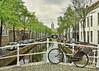 Oude Kerk Tower, Delft (Sally E J Hunter) Tags: delft netherlands holland oudekerk oudedelft schevejan oudejan canal