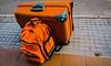 Gepäck (M. Schirmer Berlin) Tags: koffer rucksack luggage suitcase orange naranja samsonite aeris tatonka mallorca urlaub holiday reise travelling
