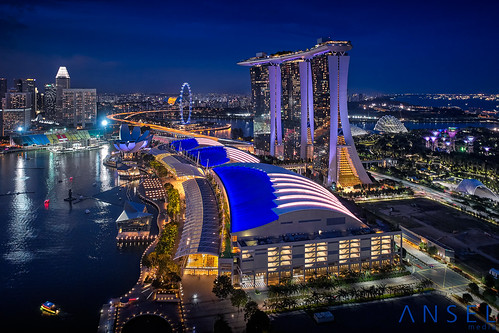 Waves Of Sand (draken413o) Tags: singapore architecture cityscapes skyline skyscrapers urban places scenes asia travel destinations marina bay sands dji drone night aerial vertorama phantom 4 pro wow amazing