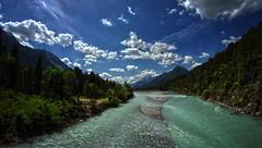 Lechtal 2 explored (Bilderschreiber) Tags: lech lechtal austria österreich fluss river sky himmel wald wood mountains alps alpen berge