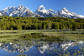 Tetons on a Gorgeous Morning