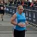 lady finishing race