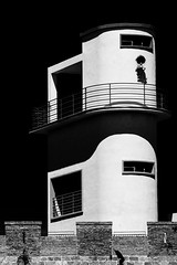 Watchtower (DanAie) Tags: watchtower tower design bw bnw black white blackandwhite blackandwhitefineart darksky street streetphotography sky blacksky monocromo monochrome composition composizione