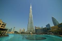 Dubai - Fountain Lake View (cnmark) Tags: dubai uae united arabic emirates burj khalifa tall tallest برج خليفة building gebäude hochhaus skyscraper wolkenkratzer gratteciel grattacielo rascacielo arranhacéu architecture architektur tower fountainlake dubaimall soukalbahar ©allrightsreserved
