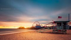 Santa Monica LA (Gregory Lebreton | Photography) Tags: landscape travel outdoors photography usa us california arizona utah southwest sunset longexposure seascape losangeles la