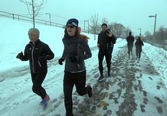 "Running Room (Slater St) February 5, 2017 - P1080375 (ianhun2009) Tags: runningroom ottawaontariocanada winterrunning ""february5 2017"" ""running room slater street"" ""marathon clinic"" training run"" ""cold running"""