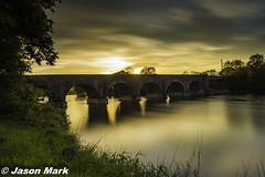Kilrea Bridge Sunset Long Exposure 52-20 (RattySV) Tags: longexposure lee09ndgrad leebigstopper leefilters nikon nikond7200 sigma1020mmf456 kilrea riverbann