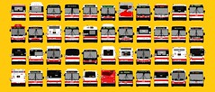 Classic Front 2 (daviddandie903) Tags: transitdrawings torontotransitcommission ttc busdrawings orionvii orionvi orionv newflyer novabus lfs artic d40lf d40lfr d40 d60lf d60lfr d60 d901 c40lf