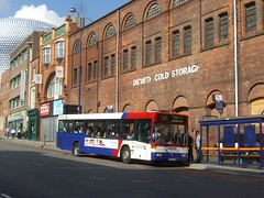 1654 Digbeth 2008 (MCW1987) Tags: travel west midlands twm lea hall mercedes 0405n t654fob 1654