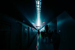 Alien (Panda1339) Tags: 28mm usa summiluxq manhattan nyc architecture subway oculus leicaq pathtrains symmetry newyorkcity