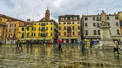 Italie - Venecie (-C-A-N-O-) Tags: rain italia venetie venecia