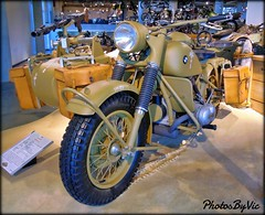 1943 BMW R75 3X2 (Photos By Vic) Tags: 1943 43 bmw antique vintage military bike motorcycle old barbervintagemotorsportsmuseum