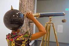 2010 Planets In My Head by Yinka Shonibare - closeup (KC) (MO FunGuy) Tags: modernart nelsonatkinsmuseumofart kansascity blochbuilding