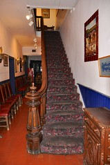 4-127 La Placita Staircase (megatti) Tags: albuquerque desert laplacita newmexico nm restaurant staircase