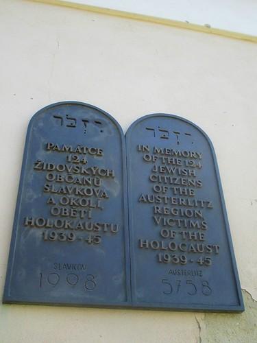 Slavkov u Brna - bývalá židovská synagoga