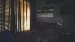 At The End Of The Day (extremely fickle) Tags: sunlight sunset summer bed bestill bedroom