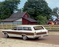 1966 Ford Fairlane Squire station wagon (biglinc71) Tags: stationwagon 1966 ford fairlane squire station wagon
