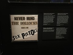 Never Mind the Bollocks - original art (Phil & Catherine Wilkins) Tags: nevermindthebollocks art cover album sexpistols va museum pinkfloyd theirmortalremains exhibition