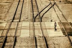 Processing: Stage 3 (brev99) Tags: railroadtracks tulsa man d610 tamron28300xrdiif topazdetail silverefex topazbweffects analogefexpro2 tone sepia viewnx2 cacorrection photoshopelements12
