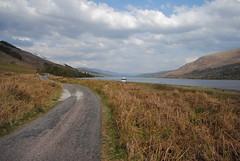 Loch Arkaig (What I saw...) Tags: highlands scotland loch arkaig toyota hiace campervan