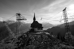 under construction (tinfrey) Tags: 2017 canonef1635mmf40lisusm canoneos6d berneroberland cantonofberne harderkulm interlaken lake may mountains switzerland viewpoint