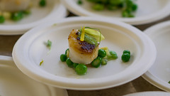 Scallop (ImaginemProductions) Tags: food wine seafood foodporn winery winemaker makeawish sf bay area cheers event eventphotographer eventphotography table beautiful sonoma