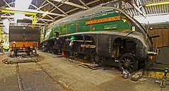 UoSA 60009 (wontolla1 (Septuagenarian)) Tags: elr east lancs railway eastlancsrailway bury bolton street station yard shed loco repair engine engineering steam wheels machine green uosa unionofsouthafrica