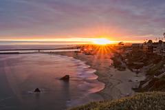Corona Del Mar Sunset (xdom05) Tags: pier coronadelmar newportbeach california flare star