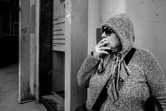 plush (.Sabbracadabra.) Tags: plush women xt2 fujifilm 1655 f28 black white mono monochrome streetart street streetphotography old new gray cigarette smoke duman sigara portre candit portrait bw sb siyah beyaz istanbul woman star photography turkey xt1 light dark noir sokak insan table somiking hand