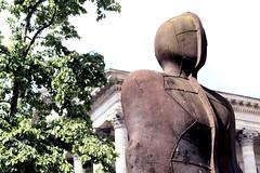 Iron Man (St Anthony's Photography Club) Tags: iron man birmingham gormley victoria square