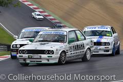 PBMW - R1 (37) Callum Noble under pressure (Collierhousehold_Motorsport) Tags: toyotires pbmw bmw productionbmw bmw320 bmw320i bmwe30 bmw318 msvr msv garyfeakinsracing gravesmotorsport