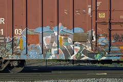 Tars (Psychedelic Wardad) Tags: freight graffiti aac aa tars