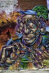 These old fingers (aerojad) Tags: eos canon 80d dslr 2017 city urban art artinpublicplaces streetart publicart mural murals graffiti vacation travel wanderlust graffitialley toronto canada vibrant colorful