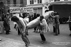 GAY RIGHTS DEMO PROTEST LONDON 1970's STOCK ARCHIVE IMAGES