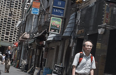 Akihabara _65 (Kinbachou48) Tags: akihabara tokio fujifilmx100s donquijote shopping byn maid idol akb48 tokiotower 東京都 秋葉原 ドン キホーテ メイド